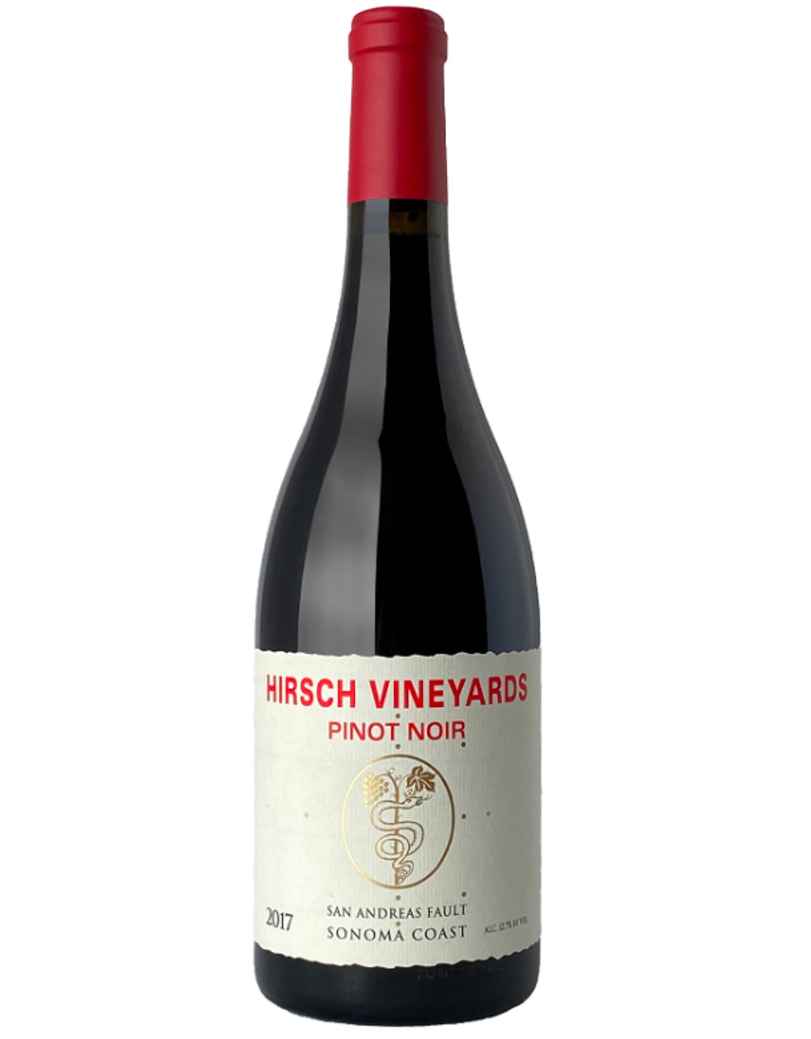 Hirsch Vineyards Pinot Noir San Andreas Fault Sonoma Coast 2017