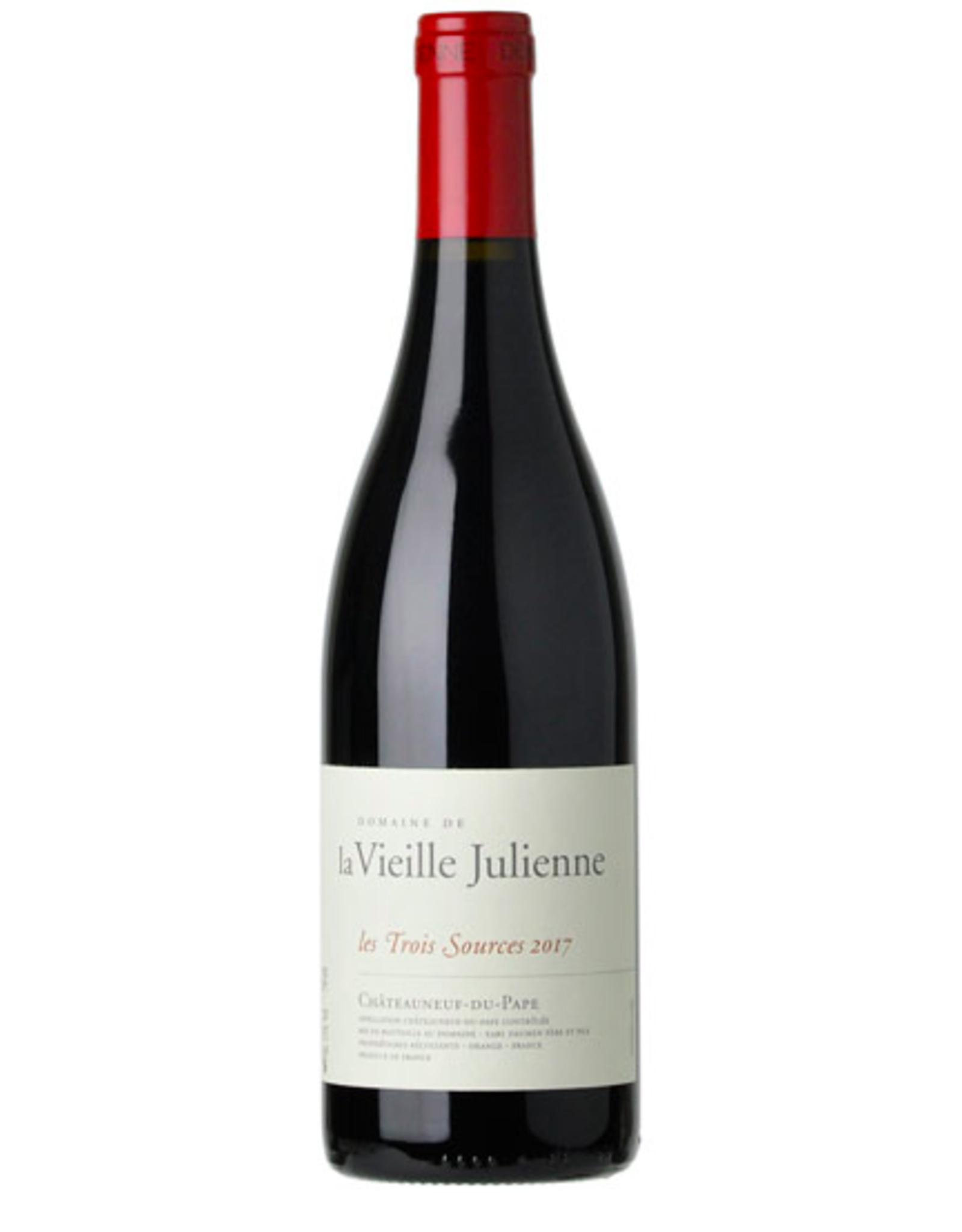 New Item Domaine Vieille Julienne Chateauneuf du Pape Trois Sources 2017