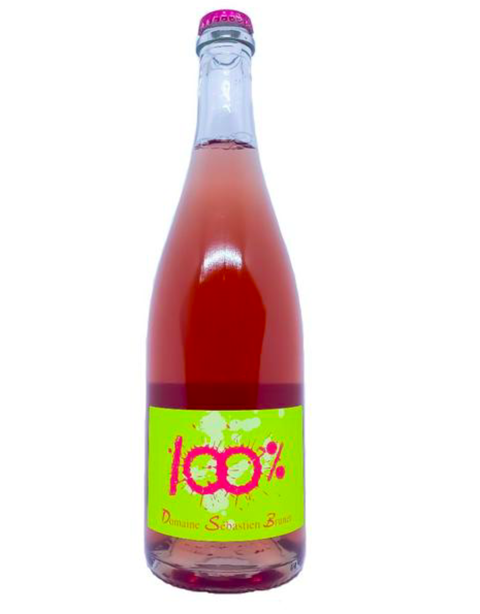 New Item Sébastien Brunet 100% Rose Pet-Nat 'Vin Mousseaux' NV