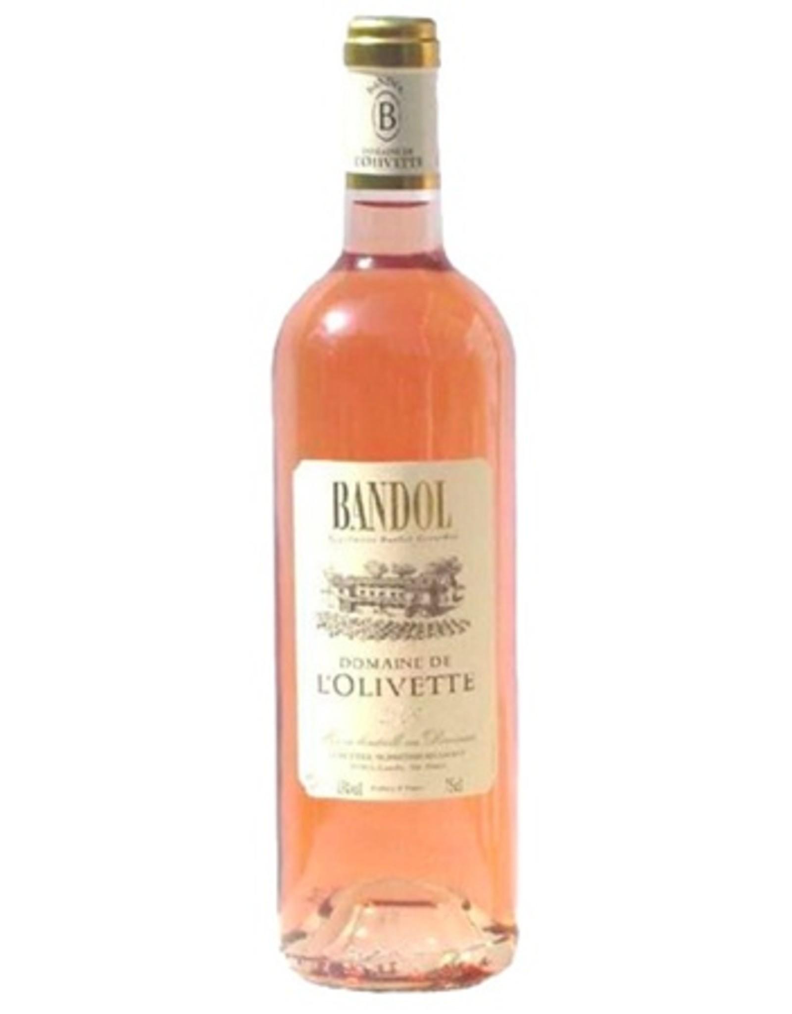 Domaine de L'Olivette Bandol Rose 2019
