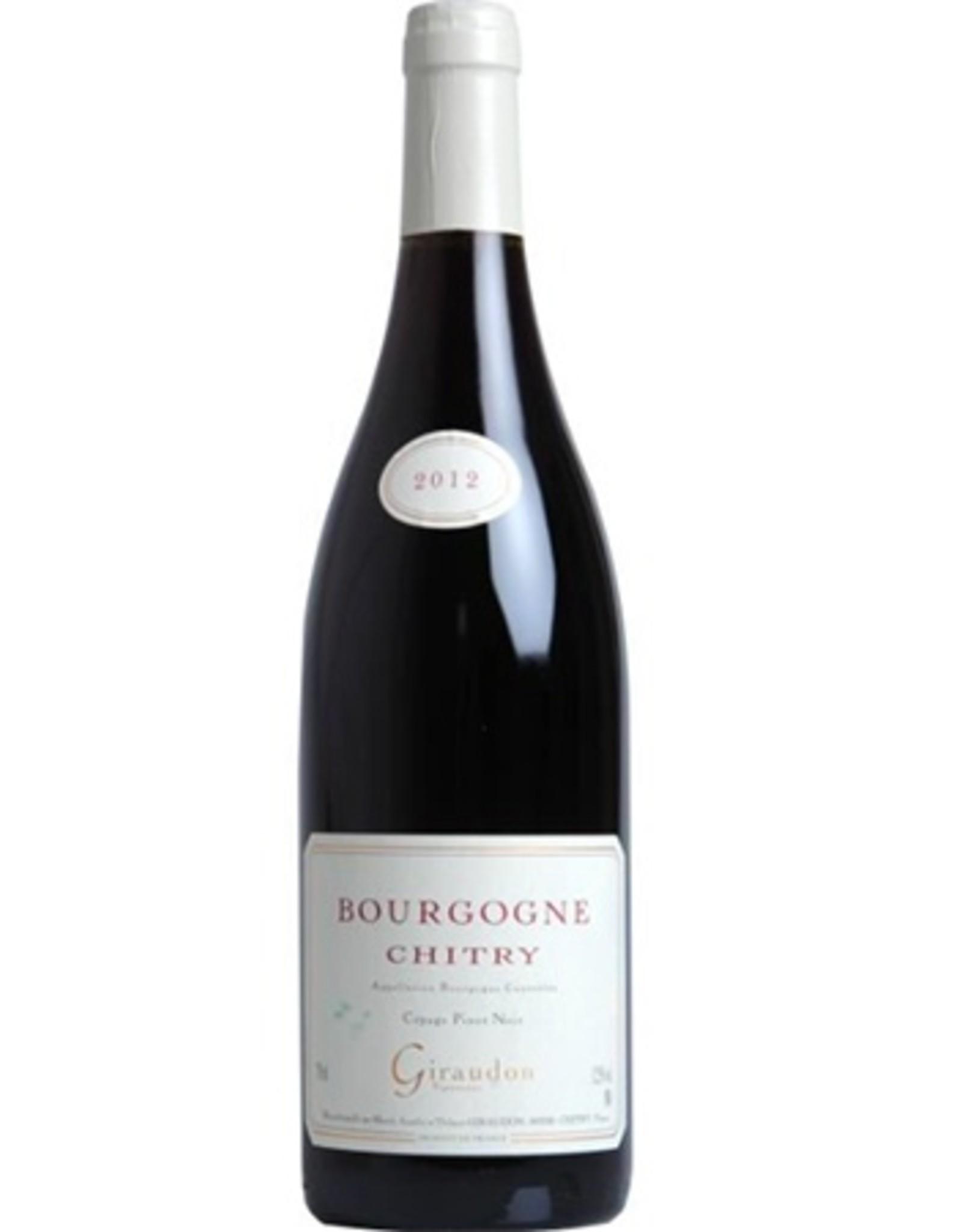 Marcel Giraudon Bourgogne Chitry Rouge PInot Noir 2018