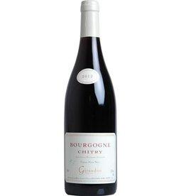 Marcel Giraudon Bourgogne Chitry Rouge PInot Noir 2019