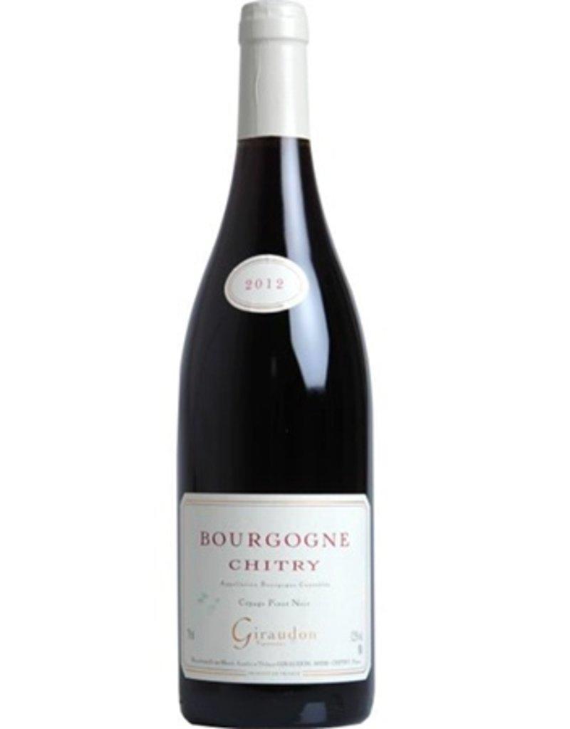 Marcel Giraudon Bourgogne Chitry Rouge PInot Noir 2017