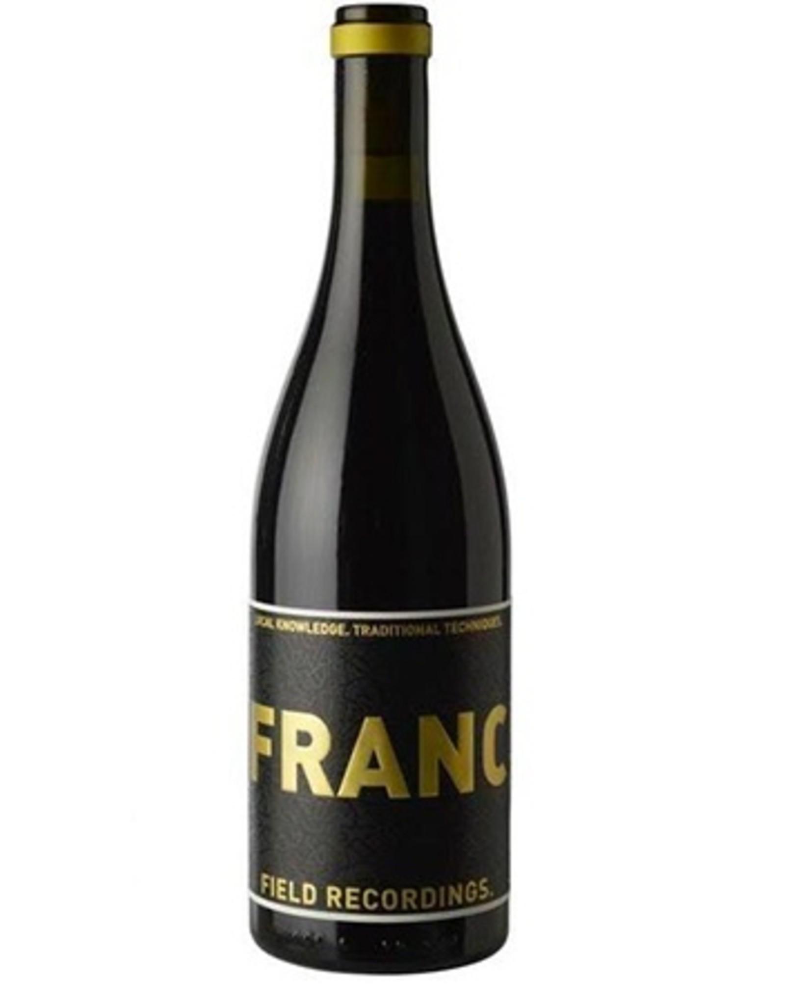 Field Recordings FRANC Cabernet Franc 2017