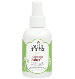 Earth Mama Organics Angel Baby Oil 120 ml. (4 oz.)