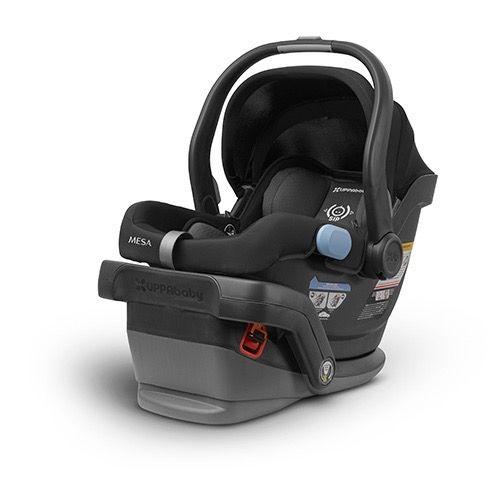 UPPAbaby MESA infant Car Seat, 2017, Jake (Black), Mesa