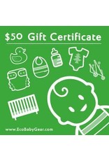 ecobaby Gift Certificate $50
