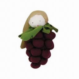 Under the Nile Grapes, purple -100% Organic Cotton