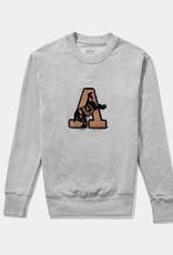 Chenille Mascot Sweatshirt (Hillflint)