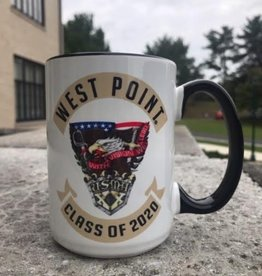 West Point Class Crest 2020 Mug (15 Ounce) Black Handle/Interior