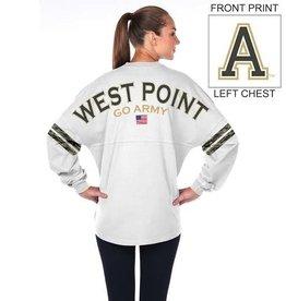 White w/ Camo Stripe Spirit Jersey