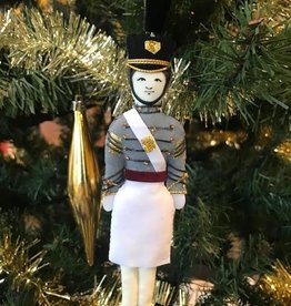 Female /Caucasian/Cadet Ornament/TARBUCKET/ (St. Nicholas Co.)