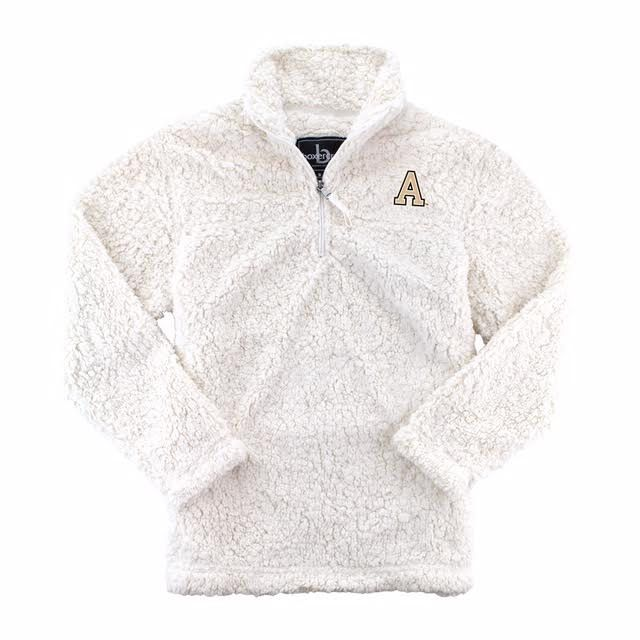 Youth 1/4 Zip Sherpa Pullover
