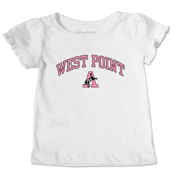 Ruffle Tee (Toddlers) Kicking Mule