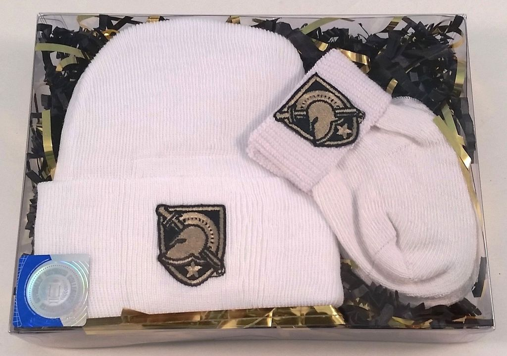 Babies First 2 pc. Set-Knit Cap and Socks (Future Tailgaters)