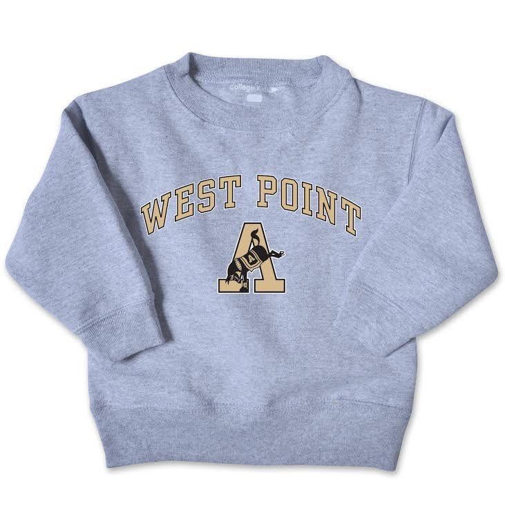 Kicking Mule Toddler Crew Sweatshirt