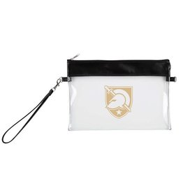 "Clear Game Day Wristlet<br /> 8 ½"" W x 6"" H"