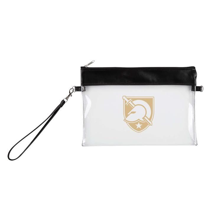 """Clear Game Day Wristlet<br /> 8 ½"""" W x 6"""" H"""
