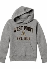 Youth Hooded WEST POINT/Block A/ Sweatshirt (League)