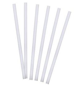 Tervis Straight Straw 9 in Clear 6 pk