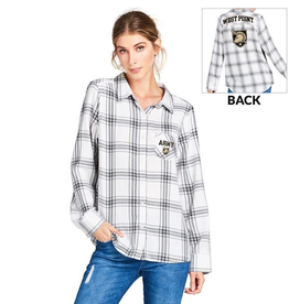West Point Gameday Flannel (Women's/Spirit Jersey)