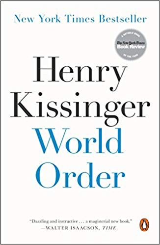 Henry Kissinger: World Order (Thayer Award Recipient)