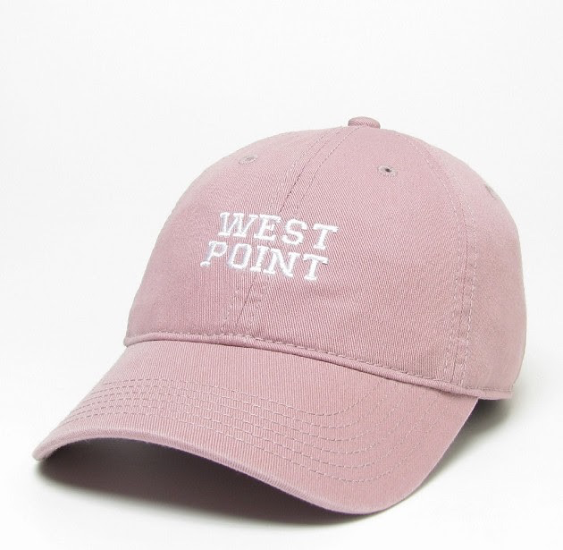 Women's Baseball Cap (West Point/Rose or Mint)
