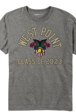 West Point Class of 2023 Tee (Triflex Retro Crewneck/League)