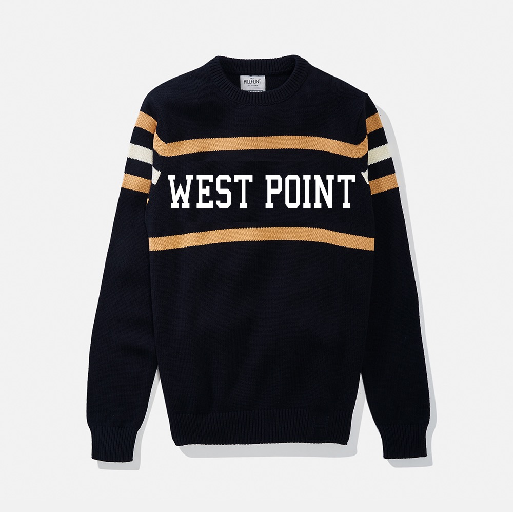 West Point Stadium Sweater (Hillflint)