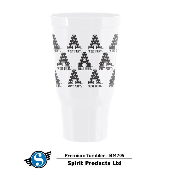 Premium Tumbler/ West Point (30 ounce/plastic) Spirit Co.