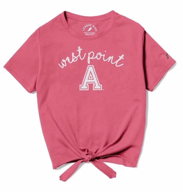 Girls Tie-Front Tee (League)