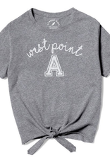 West Point Girls Tie-Front Tee (League)