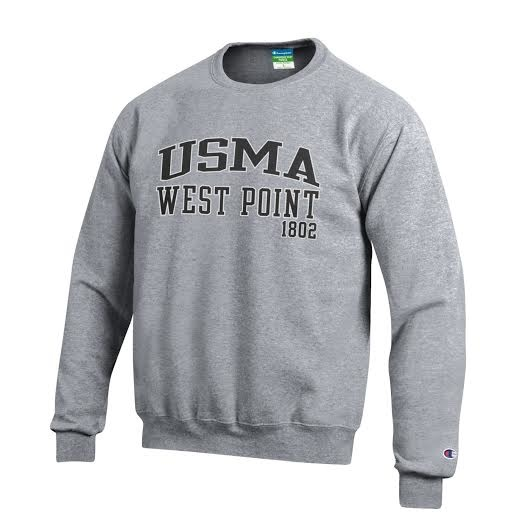 Champion Fleece USMA Crew Sweatshirt