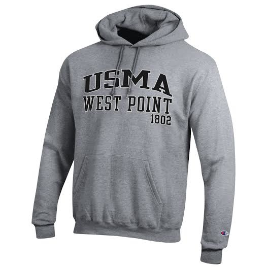 Champion Fleece USMA Hooded Sweatshirt (Adult)