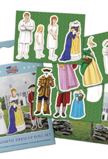 American Revolution Dress Up Doll Magnetic Set
