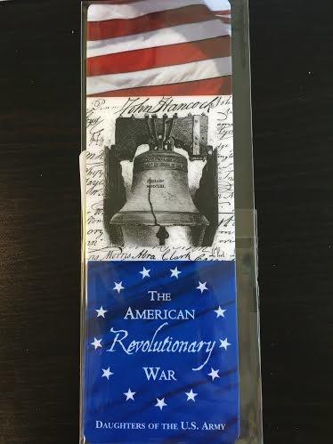 Revolutionary War Bookmark