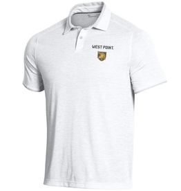 Under Armour Men's Tour Tips Streaker Polo (White)