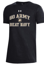YOUTH?Under Armour Performance Cotton SS Tee (GO ARMY BEAT NAVY)