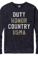 Long Sleeve/Duty, Honor, Country/ T-Shirt (Victory Falls/League)