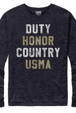 Victory Falls Tee, Duty,  Honor, Country, LONG SLEEVE (League)