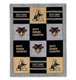West Point Quilted Spirit Blanket, 62 x 80 inches (League)
