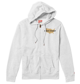 Heritage Full Zip Hoodie (League/White)