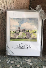"""West Point """"Thank You"""" Note (6 Per Box) M. Mullin Art"""