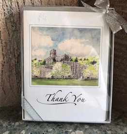 "West Point ""Thank You"" Notecards (6 per box) M. Mullin Art"
