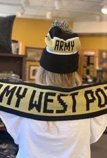 Reversible Marled Yarn Scarf (Army West Point/Black Knights) (McFly)