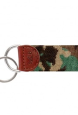 Camo Needlepoint Key Fob (Smathers and Branson)