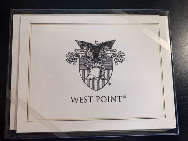 Informal Notecard/West Point Crest