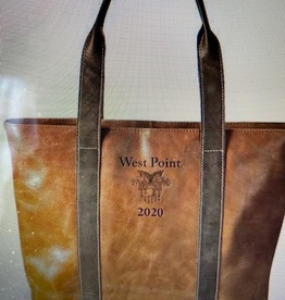 Leather Tote Bag (W PT/Class of 2020