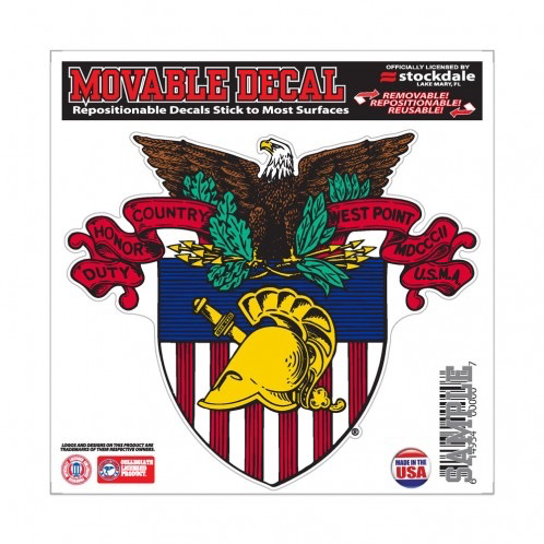 West Point Crest Decal (6 by 6)