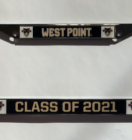 Class of 2021 Glossy License Plate Frame